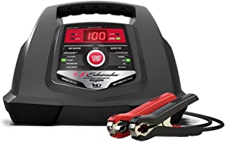 Schumacher SC1281 6/12V Fully Automatic Battery Charger and 30/100A Engine Starter with Advanced Diagnostic Testing