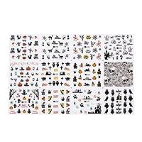 RCDD ネイルズポップ漫画のパターンスライダー用の釘接着剤DIYマニキュアのヒントネイルアートステッカーマニキュア装飾のための3Dネイルステッカー (色 : 12 pcs Type 7)