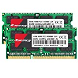 KUESUNY 8GB KIT(2x4GB) Compatible for Apple DDR3 1333MHz SODIMM PC3-10600 PC3-10600S for Early/Late 2011 13/15/17 inch MacBook Pro, Mid 2010 Mid/Late 2011 21.5/27 inch iMac, Mid 2011 Mac Mini