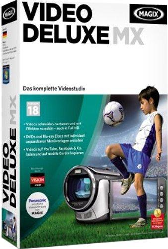 Magix Video deluxe MX - Software de video (2048 MB, 1024 MB, 2.0GHz Core2)