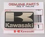 Ganz Neue 100% Original Kawasaki 'K' Mark Aufkleber Schwarz 42mm X 24mm
