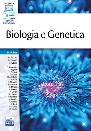 Biologia e genetica. Con e-book. Con software di simulazione
