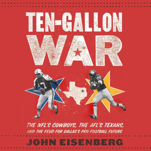 Ten-Gallon War audiobook cover art
