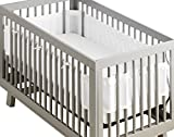 Best Crib Bumpers - BreathableBaby Deluxe Patented, Safer for Baby, Anti-Bumper, Non-Padded Review