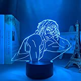 Anime luz LED gratis para siempre verano puro mate Suoka para decoración de dormitorio luz nocturna muchos niños regalo de cumpleaños habitación Anime lámpara 3D