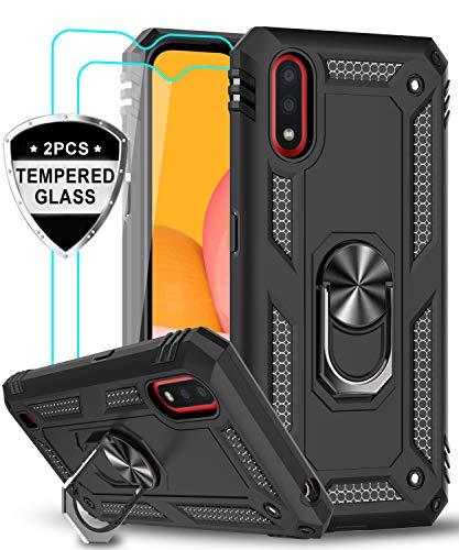 Samsung Galaxy A01 Ring Holder Case by LeYi