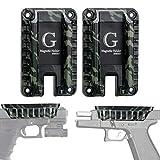 2 Pack Quickdraw Gun Magnet Mount Holster 15.4 lbs Rated, Fast Load Magnetic Handgun Pistol Holder Concealed in Car Vehicle Wall Desk Vault Bedroom