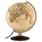 """Waypoint Geographic World Globe, Up-to-Date Globe, Illuminated Globe, Desktop Globe, 10"""" Diameter World Globe"""