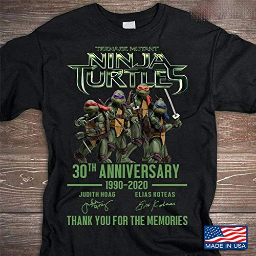 Rose House Teenage Mutant Ninja Turtles 30th Anniversary 19902020 Thank You For The Memories.