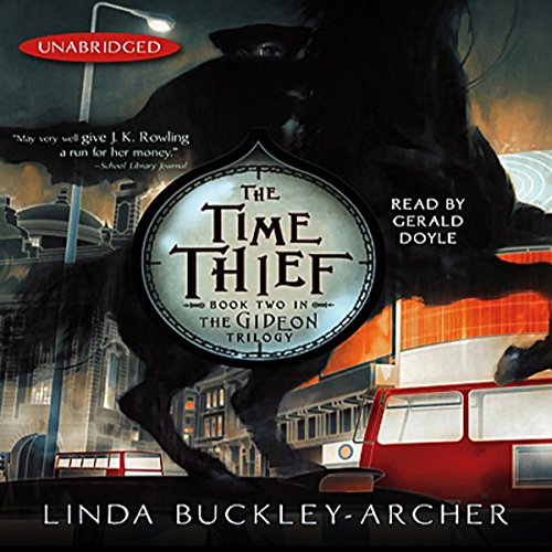 The Time Thief audiobook cover art