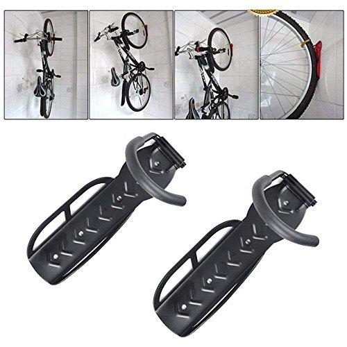 Cykelhållare hem förvaringsställ väggmonterad hängare krok 2 st