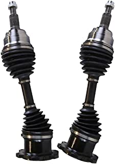 AutoShack ASDS7305 Front 28.22 Compressed Length Driveshaft Replacement for 2007-2010 BMW X3 2001-2004 330xi 2001-2005 325xi