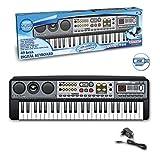 Immagine 2 bontempi tastiera colore grigio 15