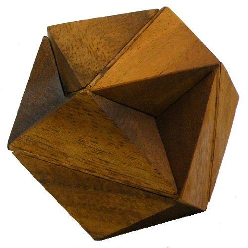 Hexagon Cube - Hölzern Puzzle Rätsel