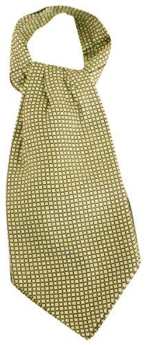 Knightsbridge Neckwear Lime Green Squares Silk Cravates de