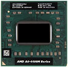 HP 683047-001 AMD A6-4400M Dual-Core processor with Radeon HD 7520G graphics - 3.2GHz/2.7GHz (Trinity, 1.0MB Level-2 cache, 1600MHz DDR3, 35W TDP)