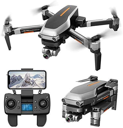 QSSQ Drone GPS con 2 Axis Gimbal Anti Shake Self Stabilizzazione WiFi FPV 4K Camera Quadcopter Brushless, 1200M Long Distance, Include Zaino Drone,B