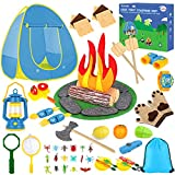 Kids Camping Play Tent Toys for 3 4 5 6 7 Year Old...