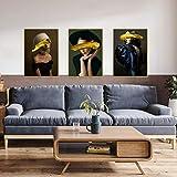 Pintura Moderna De La Pared del Fondo del Sofá, Pintura Abstracta Simple De La Decoración De La Sala...