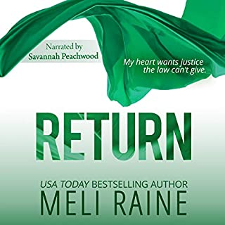 Return audiobook cover art