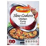 Schwartz Slow Cookers Chicken Curry Recipe Mix (40g)