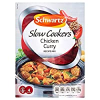 Schwartz Slow Cookers Chicken Curry Recipe Mix (40g) シュワルツスロークッカーチキンカレーレシピミックス( 40グラム)