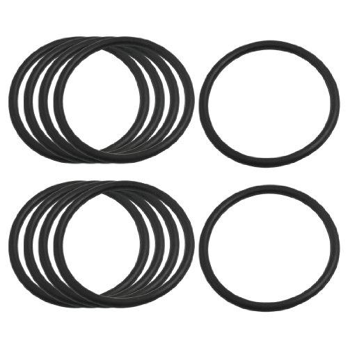 10 Stk Öl Dichtung O Rings Schwarz Nitrilkautschuk 45mm OD 3,1mm Dicke de de
