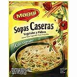 Maggi Sopas Caseras Vegetable, 2.99-Ounce (Pack of 12)