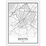ZWXDMY Leinwand Bild,Bristol Uk Großbritannien England