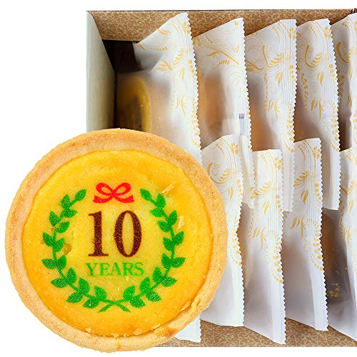 オリジナル ロゴマーク入り チーズタルト 10個セット 個包装 タルト 洋菓子 お菓子 詰め合わせ スイーツ 化粧箱入り