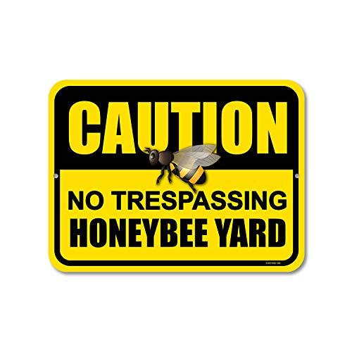 Honeybee Yard  Sign
