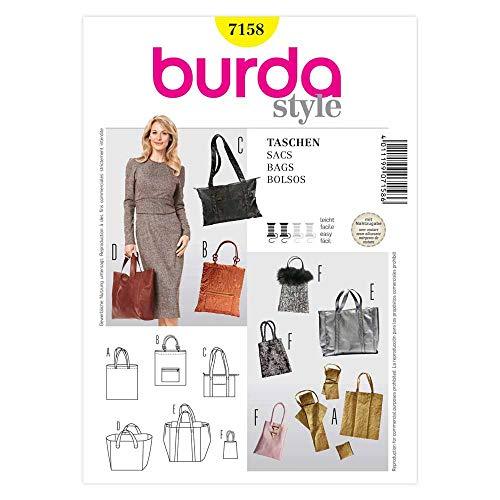Burda Schnittmuster 7158 Taschen,Shopper,Bags,Bolsos,Sacs