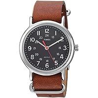 Timex TW2R63100 Unisex Weekender 38mm Watch (Brown/Black)