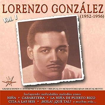 Lorenzo Gonzalez, Vol. 1 (1952 - 1956 Remastered)