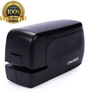 CNASA Heavy Duty Electric Stapler, Portable Full Strip Staple Capacity 20 Sheets Jam-Free..