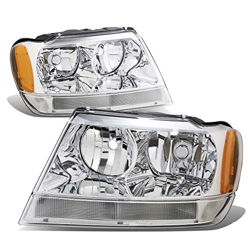 04 jeep grand cherokee headlights - 2