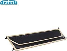 Aperta Beige Wind Deflector Compatible with BMW 2 Series F23 | Tailor Made Windblocker | Draft-Stop | Windstopper BMW Convertible