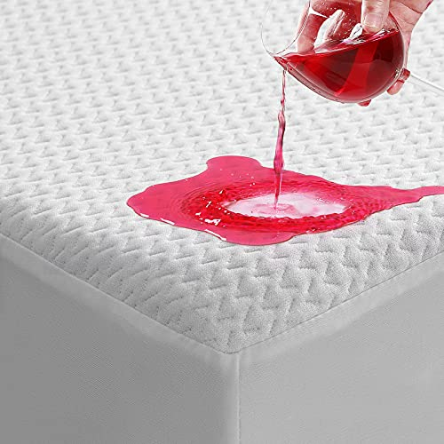 TASTELIFE Premium Bamboo King Size Waterproof Mattress Protector Pad Cooling & Ultra-Soft Breathable Bed Mattress Cover...