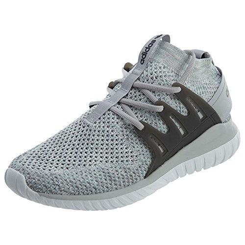 adidas Men's Tubular Nova Originals Tactile Green/LGH Solid Grey/Dark Grey Running Shoe Women US