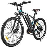 """VIVI Bicicleta Electrica 27.5"""" Bicicleta Electrica Montaña 350W Bici Electrica Adulto E-Bike con Batería 36V 10.4Ah (27.5 Amarillo)"""