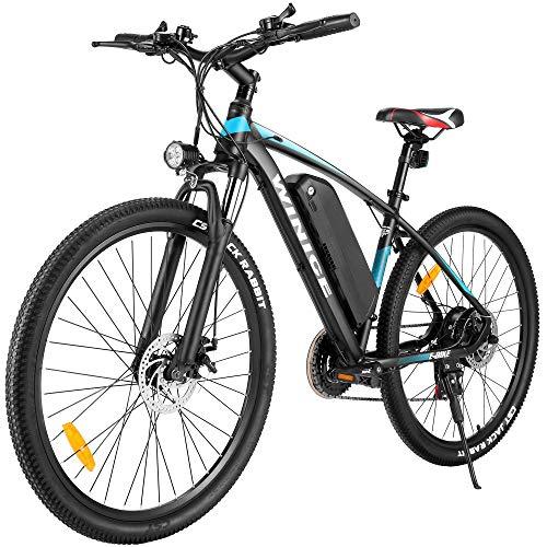 VIVI Bici Elettrica 27.5' Bicicletta Elettrica Pedalata Assistita Uomo Mountain Bike Elettrica 350W, Ebike Batteria 36 V/10.4Ah,Shimano a 21 velocità