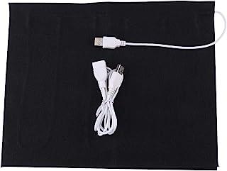 comprar comparacion Almohadilla térmica, Fydun 1pc 5V USB Calentador de tela eléctrica Elemento calefactor Alivio rápido del dolor, para ropa ...
