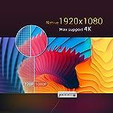 Zoom IMG-1 byintek u50 pro mini proiettore