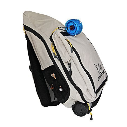 K&E Outfitters Seeker Series Fly Fishing Sling Pack (Sandalwood)