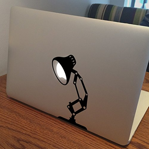PIXAR LAMP Apple MacBook Sticker past op 11