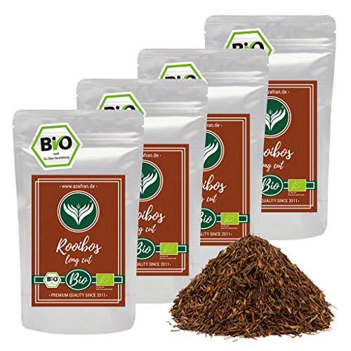 Azafran BIO Rooibos Tee lose - Rotbuschtee Natur 1kg