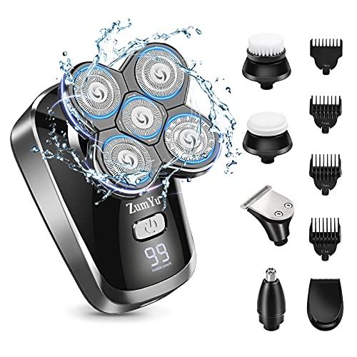 Bald Head Shavers for Men- Waterproof Electric...