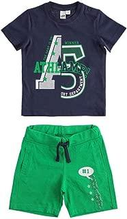 IDO Completo Bambino T-Shirt E Pantalone Corto 100/% Cotone 4j02600