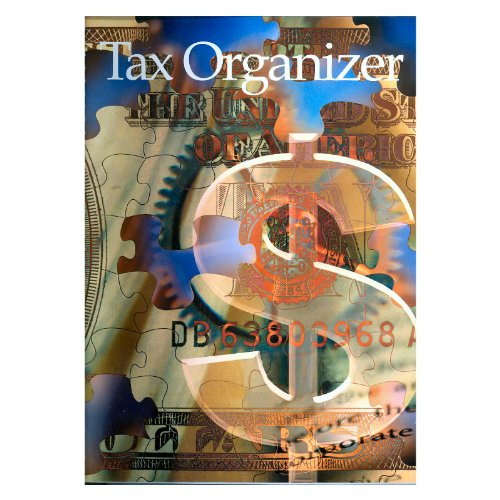 Income Tax Organizer Book with Pockets