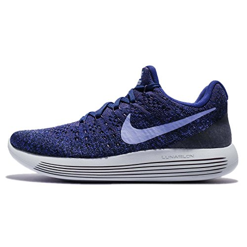 Nike Mujeres Lunarepic Low Flyknit 2 Running 863780 Sneakers Turnschuhe (UK 3.5 US 6 EU 36.5, Dark Raisin Light Thistle 501)